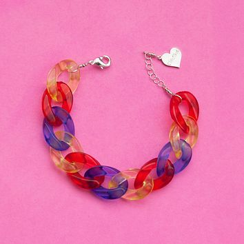 Primary Clear Bracelet