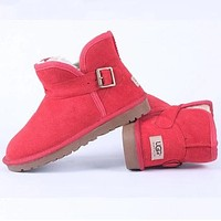 """""""UGG"""" Women Trending Fashion Wool Snow Boots Shoes"""