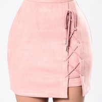 Glass City Skirt - Mauve