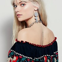 Free People Sienna Off The Shoulder Top