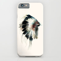 Headdress iPhone & iPod Case by Amy Hamilton