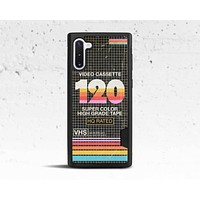 Retro VHS Tape Sleeve Phone Case for Samsung Galaxy S & Note