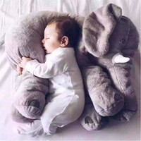 Soft Elephant Feeding Cushion Baby Pillow - All About Baby