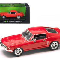 1968 Ford Mustang GT Car 1-43 Diecast Model Car by Road Signature