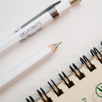 DELFONICS Mechanical Pencil White