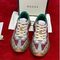 GUCCI Retro jogging shoes