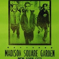 Green Day Concert Poster, Madison Square Garden, New York City