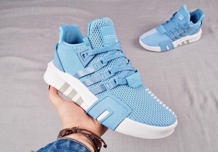 Image of Adidas EQT BASK ADV Breathable Comfortable Couple Running Shoes B-CAXY Blue