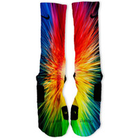 Sunburst Custom Nike Elite Socks