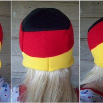 Germany Flag Hat by Akiseo on Etsy