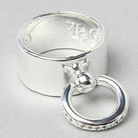 The Slave Ring in Silver by Han Cholo   Karmaloop.com - Global Concrete Culture