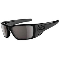 mieniwe? Cheap Oakley Fuel Cell Mens Sunglasses - Polished Black ~ Warm Grey One Size