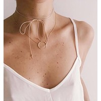 Thin Wrap Choker