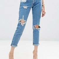 ASOS | ASOS BRADY Boyfriend Jeans in Athens Wash at ASOS