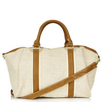 Canvas Holdall - Luggage - Bags & Wallets  - Bags & Accessories