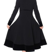 Chicstar | Caliente High Collar Coat‏ Black - Tragic Beautiful buy online from Australia