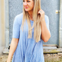 Anything At All Tunic {Blue}