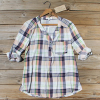 Northerner Plaid Top