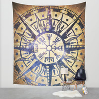 See the Way Wall Tapestry by Jenndalyn