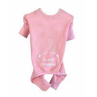 Sweet Dreams Thermal PJs — Pink