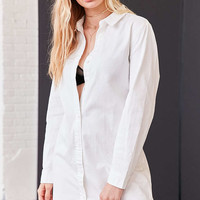 BDG Button-Down Shirt Mini Dress - Urban Outfitters