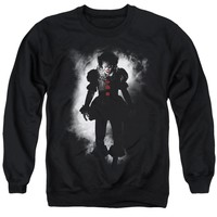 IT Sweatshirt Pennywise Arrival Black Pullover