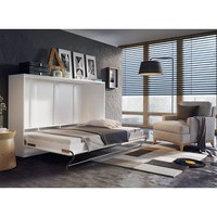Brayden Studio Van Wyck Murphy Bed with Mattress | Wayfair