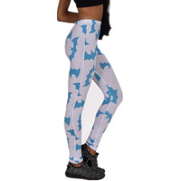 New adventures in the spring and autumn time fitness women leggings 2016 mickey bat printing leggins leggings