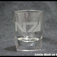 Mass Effect Shot Glass
