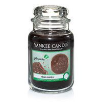 Girl Scout® Thin Mints® : Large Jar Candles : Yankee Candle