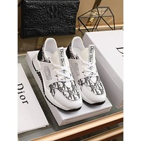 dior fashion men womens casual running sport shoes sneakers slipper sandals high heels shoes 226