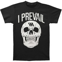 I Prevail Men's  Rowdy Skull Tee T-shirt Black