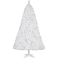 Walmart: Holiday Time Non-Lit 6.5' Jackson Christmas Tree, White