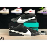 Nike SB Blazer Zoom Tide brand low men and women casual wild sports shoes #5