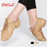 New Professional Jazz Dance Shoes Boots Women Men Kids Lace Up Dance Jazz Sneakers Leather Jazz Shoes jazz athletic shoes 4715
