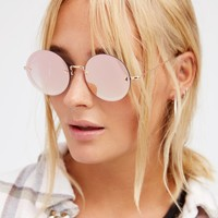 Free People Shimmy Shake Flat Lens Sunnies