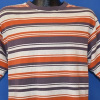 90s Property Striped Skating t-shirt Large