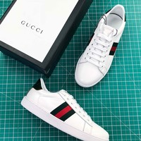 Gucci Ace Embroidered Low Top Sneaker - Best Online Sale