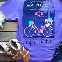 simply southern preppy tee