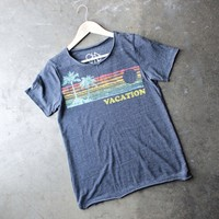 chaser - vacation ready triblend crew neck tee
