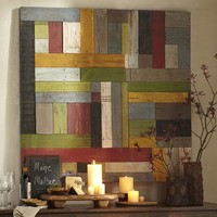 PAINTED PIECED WOODWORK