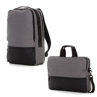 The Gray Hank & Trace Backpack and Messenger Bag Bundle
