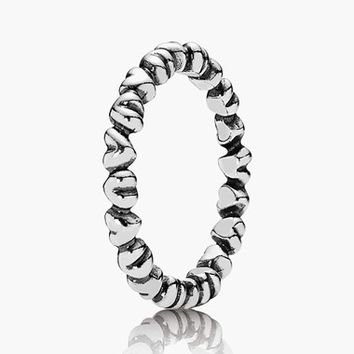 Women's PANDORA 'Forever Love' Band Ring - Silver