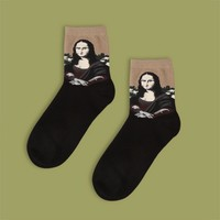 Mona Lisa Sock | Short