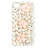 Pearls & Blossoms Phone Case: Charlotte Russe