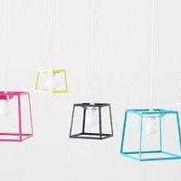 Frame Pendant Lamps by Iacoli and McAllister ? ACCESSORIES -- Better Living Through Design