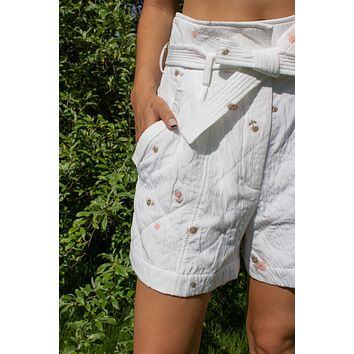 Jardin Quilted Shorts