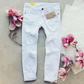 The Weekender Crop Jeans