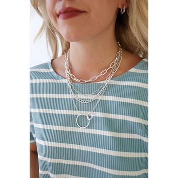 One For All Necklace - Silver