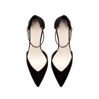 BASIC HIGH HEEL ANKLE STRAP SHOE WITH HEEL BACK - Shoes - WOMAN | ZARA United States